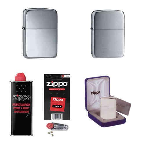 Zippo feuerzeuge accessoires f r benzin gasfeuerzeuge for Designer geschenke shop